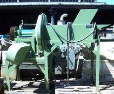 Estrutura de máquina industrial