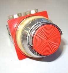 marca: Blindex modelo: s/trava 30mm vermelho 4contatos estado: usado