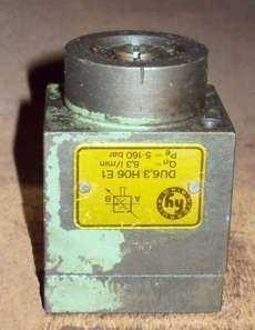 Válvula hidráulica (modelo: DU6,3 H06E1)