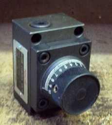 Válvula controle de fluxo (modelo: CTS-G01-2-11)