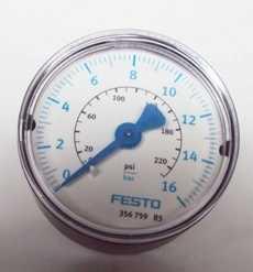 Manometro (escala: 230PSI 16BAR)