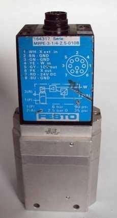 marca: FESTO modelo: MPPE31425010B 164317 estado: usada