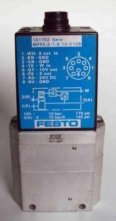 marca: FESTO modelo: MPPE31810010B 161162 estado: seminova