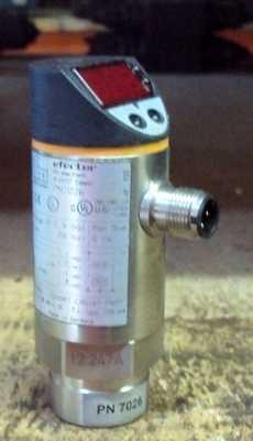 Pressostato pneumático (modelo: EfectorPN7026)