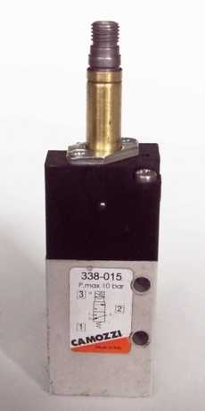 Válvula pneumática (modelo: 338015)