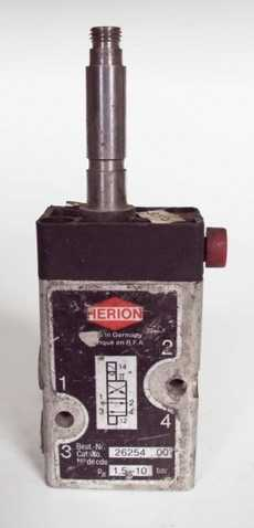 Válvula pneumática (modelo: 2625400)