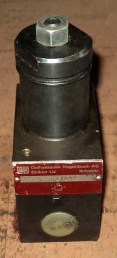Válvula hidráulica (modelo: PBD12/200)