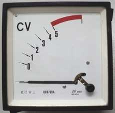Medidor CV (escala: 5CV)