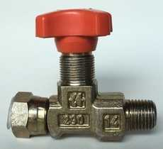 Válvula isoladora de manometros