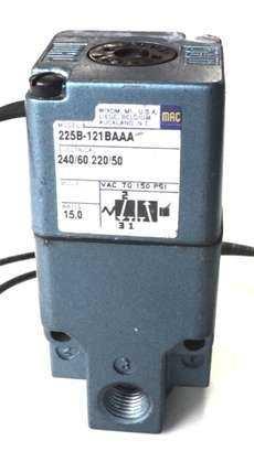 Válvula pneumática (modelo: 225B-121BAAA)