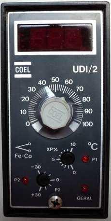 Controlador de temperatura (modelo: UDI2)