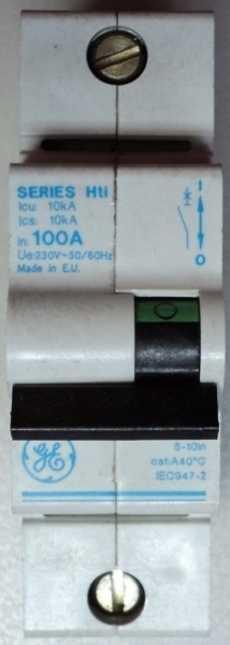 Disjuntor (modelo: Series Hti)