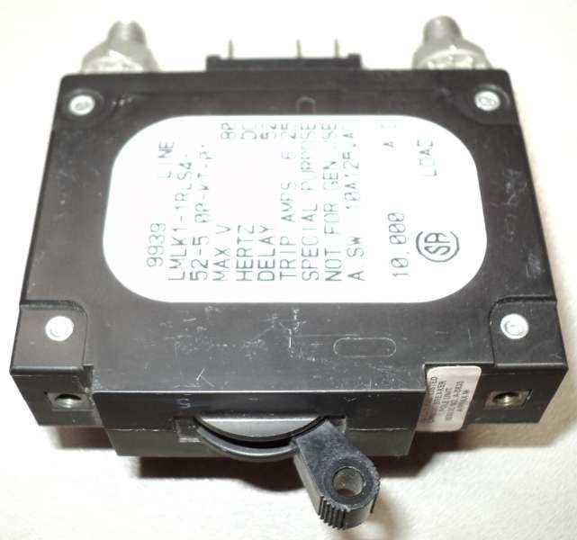 marca: Airpax <br/>modelo: LMLK11RLS4 6,25A 80V <br/>estado: nunca foi utilizado