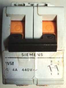marca: Siemens modelo: G4A440V bipolar estado: usado