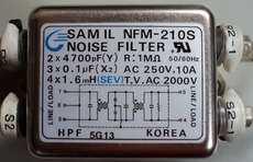 Filtro de ruído (modelo: NFM-21 OS)