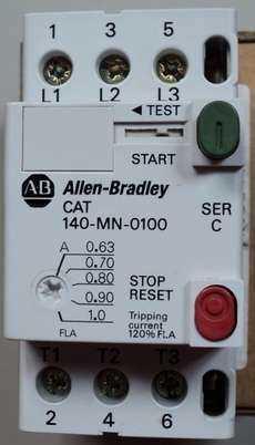 marca: Allen Bradley modelo: 140MN0100 estado: novo
