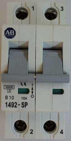 Disjuntor (modelo: 1492SP2B100)