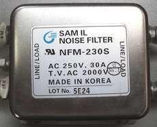 Filtro de ruído (modelo: NFM-230 S)