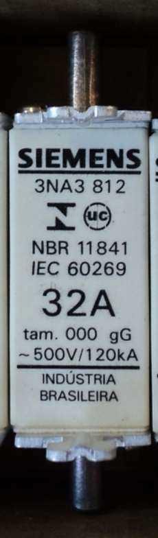 Fusível (modelo: 3NA3 812 32A)