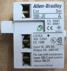 marca: Allen Bradley modelo: 100JE para uso com contatores do tipo 100-C estado: novo