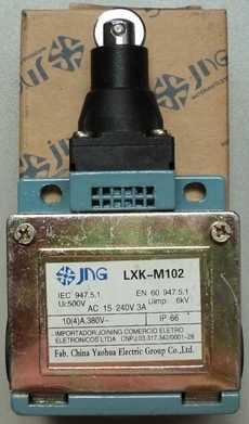 Fim de curso (modelo: LXKM102)