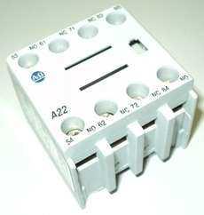 marca: Allen Bradley modelo: A22100FA22 2NO 2NC estado: novo