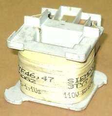 marca: Siemens modelo: 3TY74630AG2 para 3TF46, 3TF47 110V 50/60Hz estado: usada