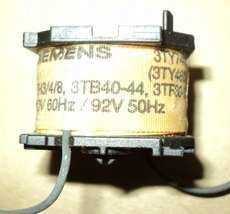 marca: Siemens modelo: 3TY para 3TH3/4/8,3TB40-44, 3TF30-33 110V 60HZ estado: usada