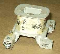 Bobina (modelo: LX1D25) para contator