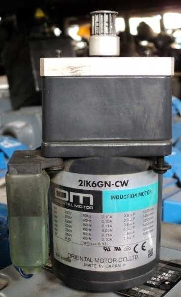 marca: Oriental Motor <br/>modelo: 2IK6GNCW mini <br/>estado: usado