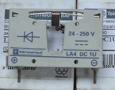 marca: Telemecanique modelo: LA4DC1U 24-250V estado: nunca foi utilizado