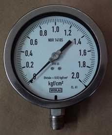 Manometro (escala: 2kgf/cm2)