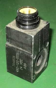 marca: Trabon modelo: 492120205 24VDC A99 estado: nunca foi utilizada