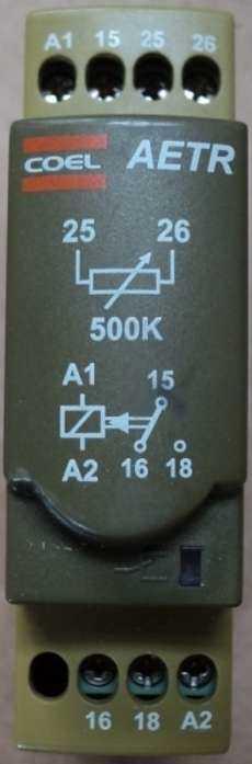 marca: Coel modelo: AETR para ser usado em conjunto com o temporizador HTD (ver segunda foto) estado: nunca foram utilizados, rele na caixa, temporizador sem caixa.