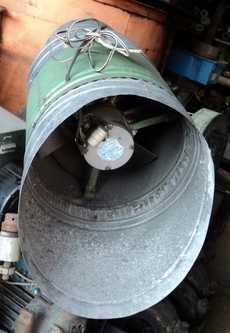 Ventilador (modelo: c/ estrutura em metal)