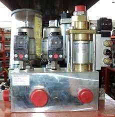 Unidade contendo vários componentes pneumáticos