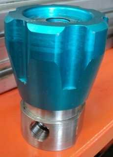 Válvula pneumática (modelo: PHVRPHI-1/2NPT-10K)
