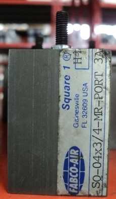 Cilindro pneumático (modelo: SQ-04X3/4-MR-PORT 3A)