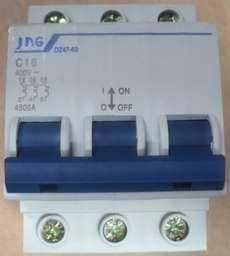 Disjuntor (modelo: DZ47-63 C16 16A)
