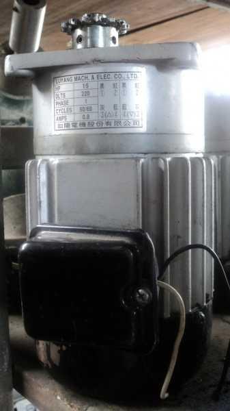 marca: Luyang <br/>modelo: 0,2HP/0,2CV 220KLTS PHASE1 50/60 0,8A monofásico <br/>estado: usado
