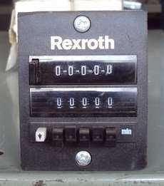 Contador pneumático (marca: Rexroth)
