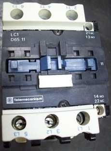 Contator (modelo: LC1D6511)