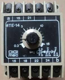 Controlador (modelo: MTE14)
