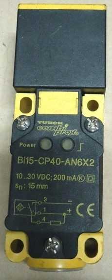 Sensor (modelo: BI15-CP40-AN6X2)