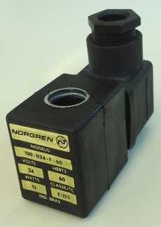 marca: Norgren modelo: 100024F60 24V 12W estado: nova
