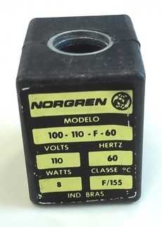 marca: Norgren modelo: 100110F60 110V 60HZ 8W estado: nova