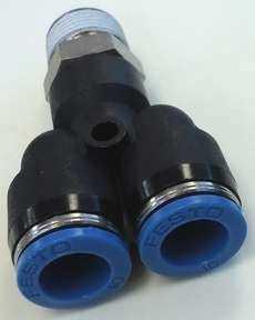 marca: Festo modelo: QSY3810 3/8X10mm estado: nova