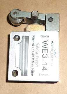 Válvula pneumática (modelo: WE314)