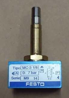 marca: FESTO modelo: MC318 estado: seminova