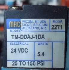 Bobina (modelo: TMDDAJ1DA) para válvula pneumática